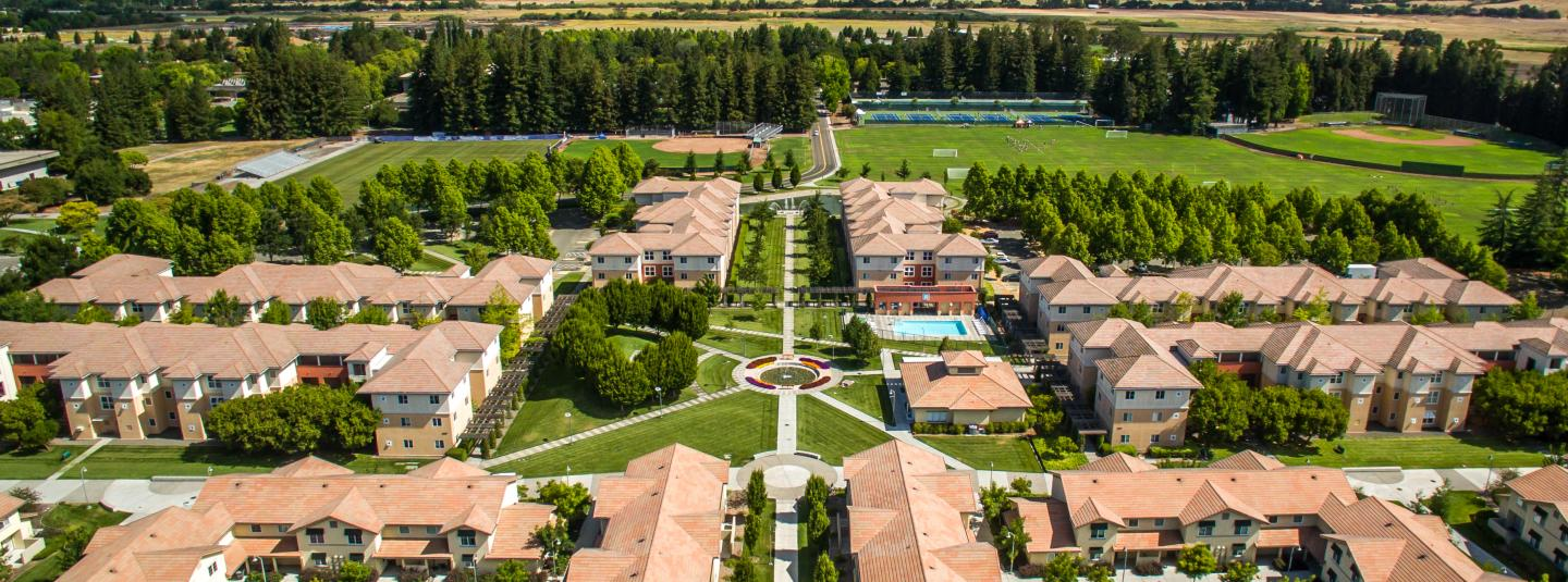 Aerial View of Tuscany Dorms
